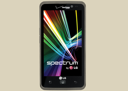 LG Spectrum delivers